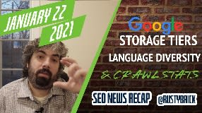 Video: Google Search Indexing Storage Tiers, Language Diversity & Paying Bloggers
