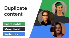 Video: Duplicate content (and what to do with it) | Sustainable Monetized Websites