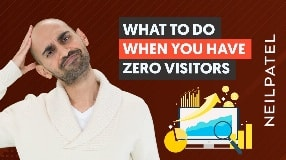 Video: If You Have ZERO Website Visitors, Do THIS First | Optimizing a New Website For Organic Traffic