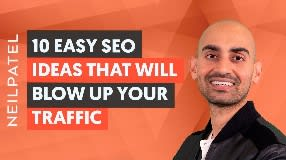 Video: 10 EASY SEO IDEAS That Will BLOW UP Your Traffic in 2021