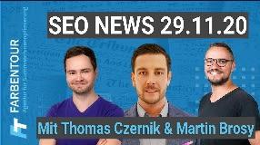 Video: SEO News November 2020 [feat. Thomas Czernik und Martin Brosy]