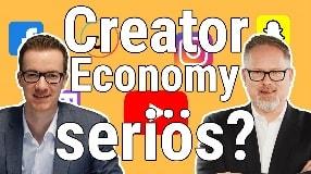 Video: Influencer Marketing 2021: Wie seriös ist die Creator Economy? | Roland Schweins im Interview