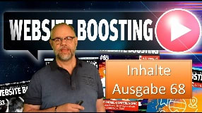Video: Website Boosting - Inhalt Ausgabe 68