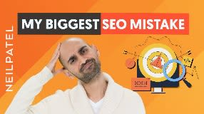 Video: My Biggest SEO Mistake (And Why Your Organic Traffic Might Be Garbage)