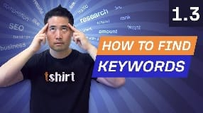Video: Keyword Research Pt. 2: How to Find Keywords for Your Website - 1.3. SEO Course by Ahrefs