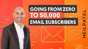 Video: How To Go From Zero to 50,000 Email Subscribers - With Email Marketing Unlocked