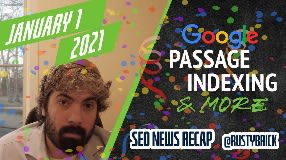 Video: Christmas Google Update, Passage Indexing Interface & Search Interfaces