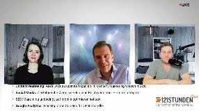 Video: Messung Content Marketing, Cookieless Tracking & mehr | Experten diskutieren bei 121STUNDEN live #1