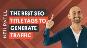 Video: 10 Title Tag Tweaks That'll Boost Your SEO Traffic