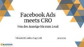 Video: Webinar-Aufzeichnung: Facebook Ads meets CRO - Von der Anzeige bis zum Lead (28.05.2021)
