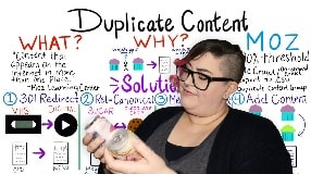 Video: How to Resolve Duplicate Content — Whiteboard Friday