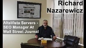 Video: Richard Nazarewicz From AltaVista Servers To SEO Manager At The Wall Street Journal - #128