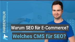 Video: Welches Shop CMS für SEO geeignet ist und warum SEO für Ecommerce wichtig ist (Shop SEO Teil 1)