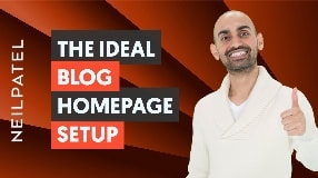 Video: How to Create The Ideal Blog Homepage