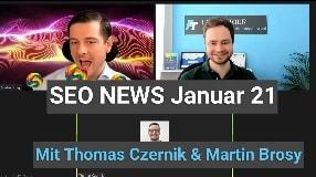 Video: SEO News Januar 2021 (in da Club Edition)