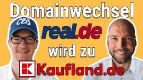 Video: Domainwechsel: Aus Real.de wird Kaufland.de | Marcel Dittrich im Interview