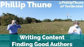 Video: Phillip Thune On Writing Content, Finding The Right Author & Google Panda Penguin Shifts In Content