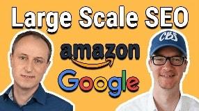 Video: Large Scale SEO bei Google und Amazon | Interview mit Hans-Henning Raven von KW-Commerce