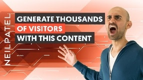 Video: A Unique Type of Content That Will Generate You 100,000 Visitors Per Month