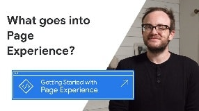 Video: What goes into Page Experience
