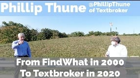 Video: Phillip Thune On The FindWhat Days In 2000 To Running Textbroker in 2020 - Part One - Vlog #102