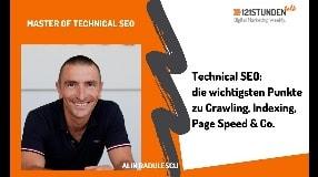 Video: SEO für B2B-Nischen, Grundlagen des Technical SEO & Page Speed Optimierung | 121STUNDENtalk #26