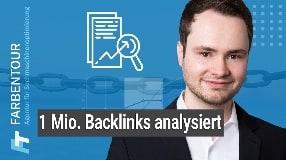Video: Analyse von 1 Mio. Backlinks - hier die Ergebnisse