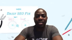 Video: Daily SEO Fix - On-page optimization