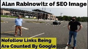 Video: Alan Rabinowitz On Nofollow Links Being Counted By Google (Part One) - #97