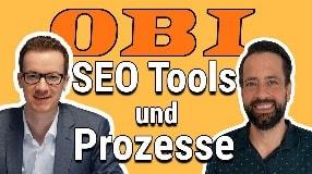 Video: Inhouse SEO Tools und Prozesse bei OBI | Benedikt Kirch im Interview