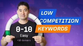 Video: How to Find Low Competition Keywords for SEO