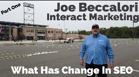 Video: Joe Beccalori On What Has Changed In SEO Over The Years (Part One) - Vlog #99