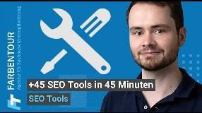 Video: 45 SEO Tools in (etwas weniger als) 40 Minuten