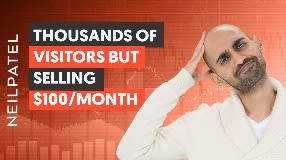 Video: When You Have Thousands of Website Visitors but Can't Sell More Than $100/Month