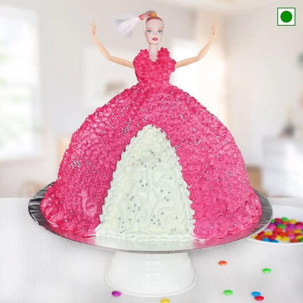 Pretty Doll cake