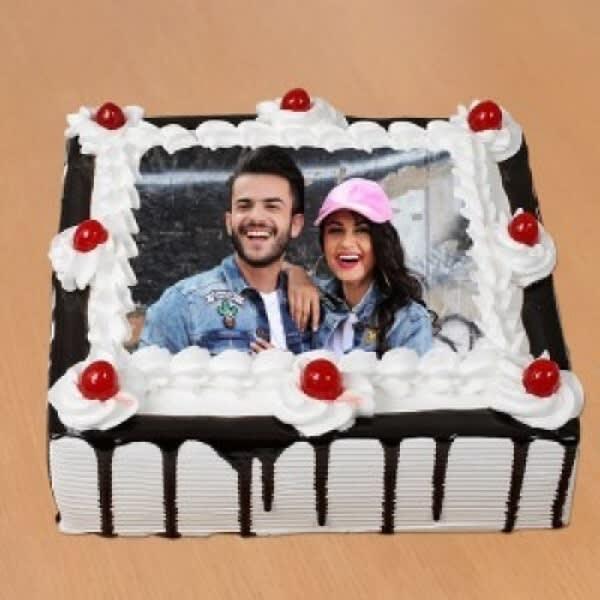 Happy Photo Cake