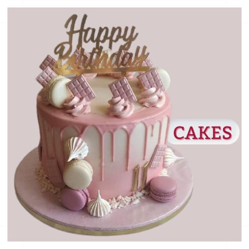 Delicious Cake for online delivery same day and midnight