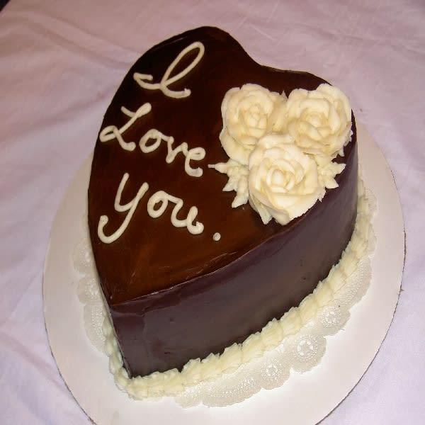 Heart Melting Cake
