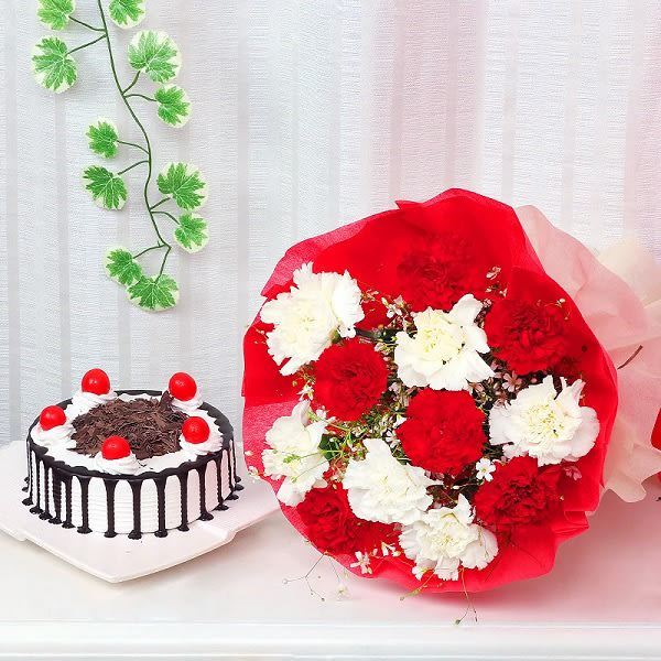 Mix Carnation and Cake