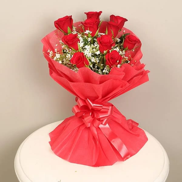 Special Time – 10 roses bouquet