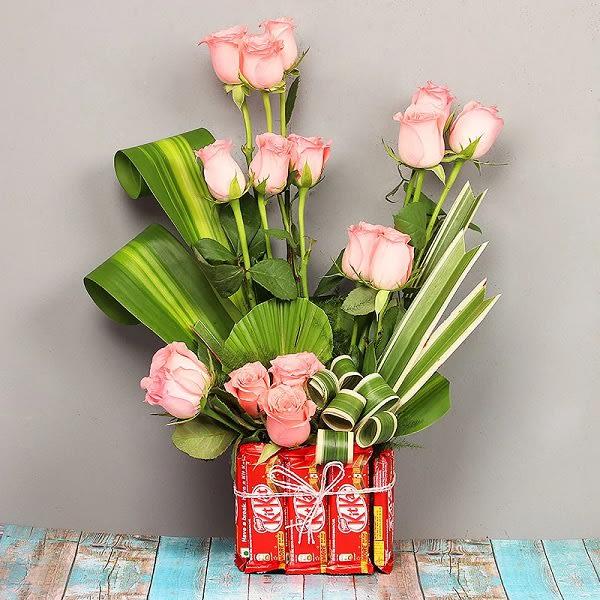 Pink Rose and Kitkat