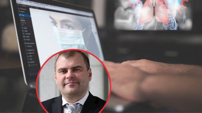 Online chat Tomáš Kofroň koronavirus