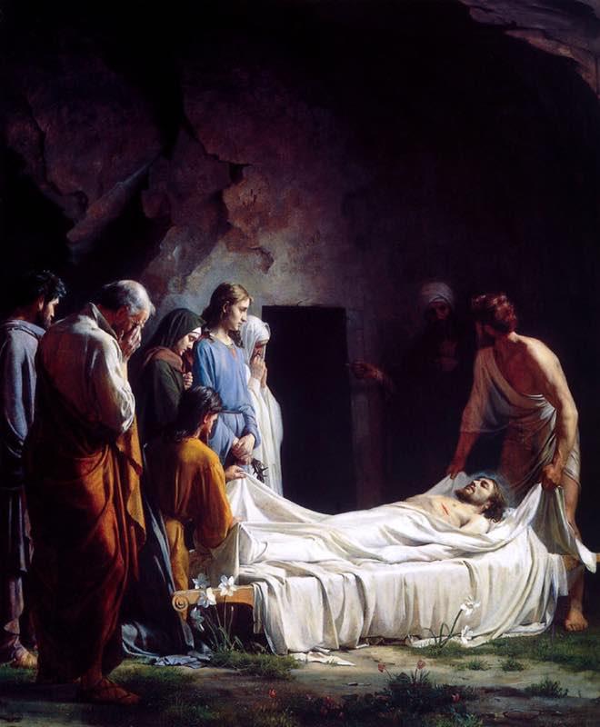 Kristus setelah diturunkan dari Salib