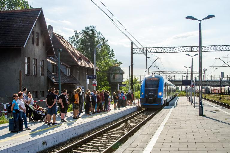 połączenia kolejowe