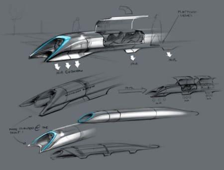 Capsule design, hyperloop