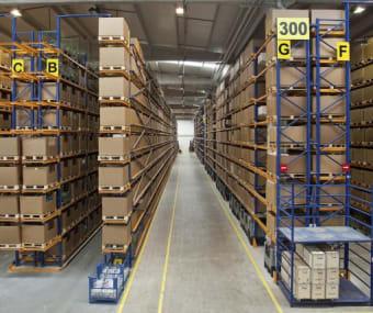 Major Indian E-commerce company Warehouses powered by Skylark Technologies