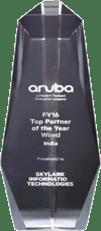 HPE Award received by Skylark Technologies