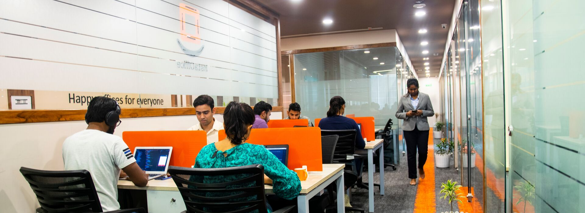 Coworking spaces from InstaOffice in Delhi