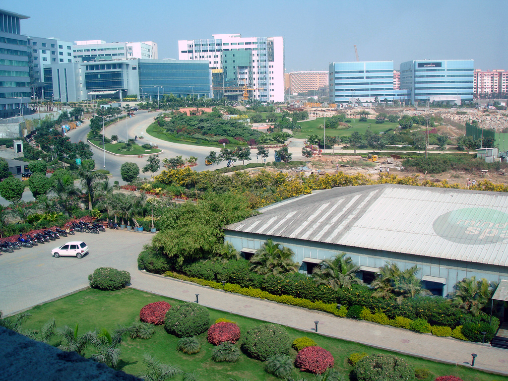 Business Centre in Gachibowli, Hyderabad