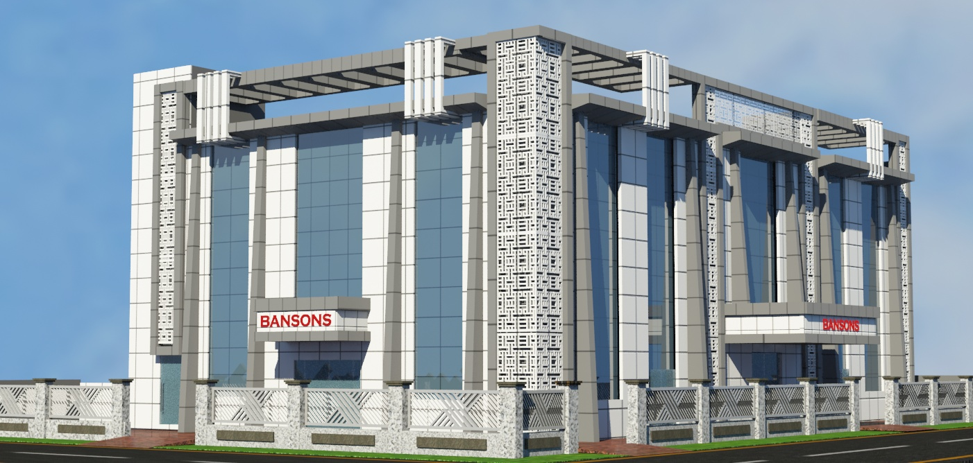 InstaOffice Bansons House outside view